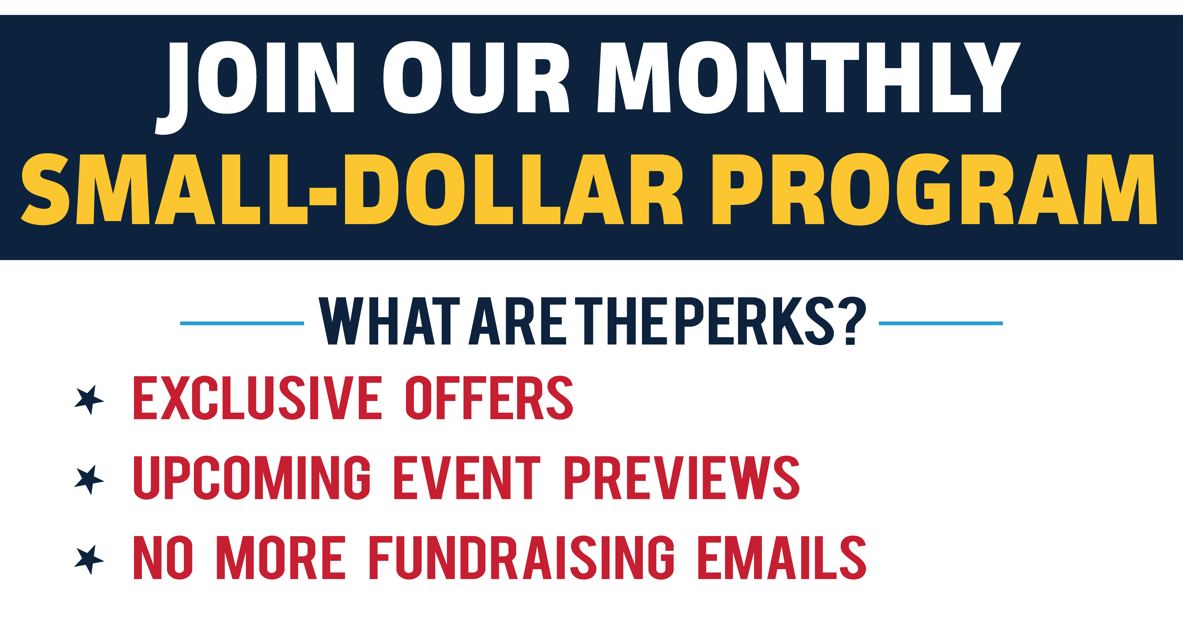 You can join BKC to make automatic monthly donations, no longer receive fundraising emails, and to receive exclusive offers and previews of upcoming events.